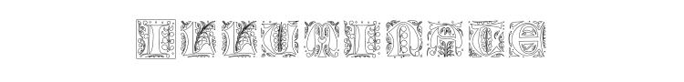 Gothic Illuminate Font