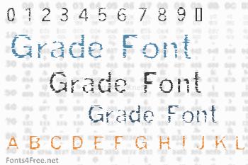 Grade Font