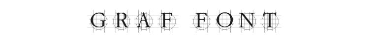 Graf Font Preview
