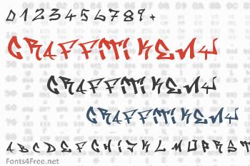 Graffiti Keny Font
