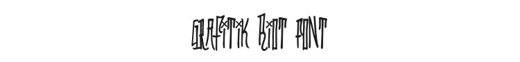 Grafitik Riot Font Preview
