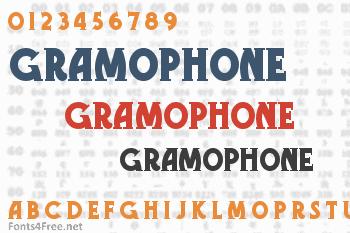 Gramophone Font