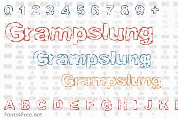 Grampslung Font