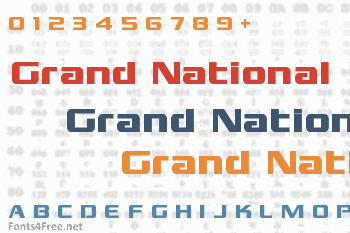 Grand National Font