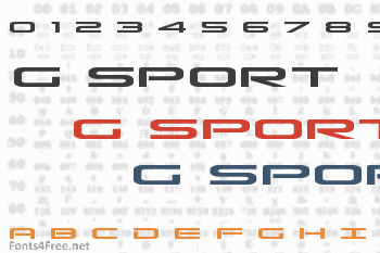 Grand Sport Font