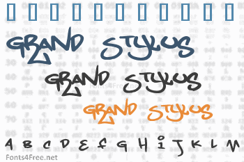 Grand Stylus Font