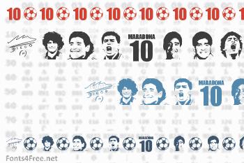 Grande Maradona Font