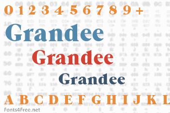 Grandee Font