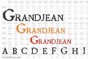 Grandjean Font