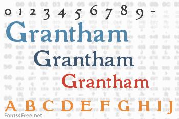 Grantham Font