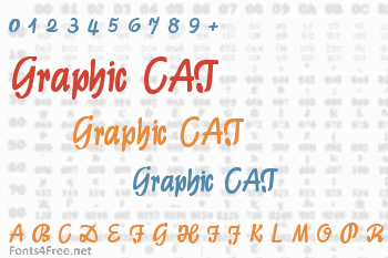 Graphic CAT Font