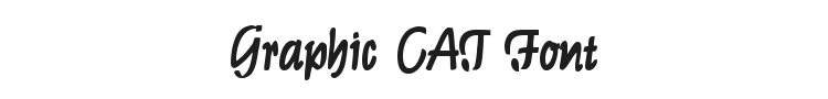 Graphic CAT Font Preview