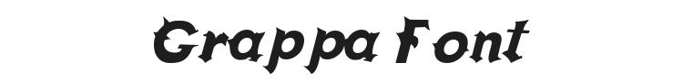 Grappa Font Preview