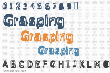 Grasping Font