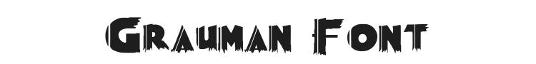 Grauman Font Preview