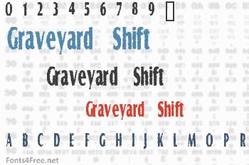 Graveyard Shift Font