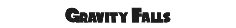 Gravity Falls Font Preview