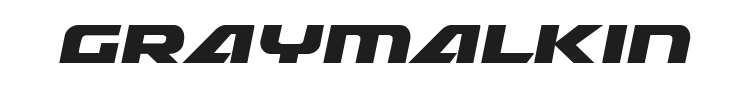 Graymalkin Font Preview