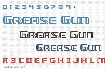 Grease Gun Font