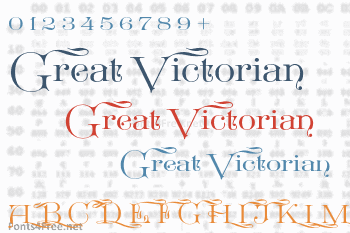 Great Victorian Font