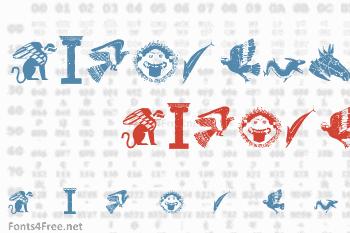 Greek 1 Font