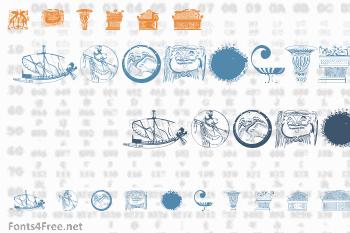 Greek Art Font