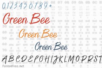 Green Bee Font
