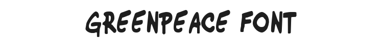 Greenpeace Font Preview