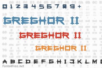 Greghor II Font