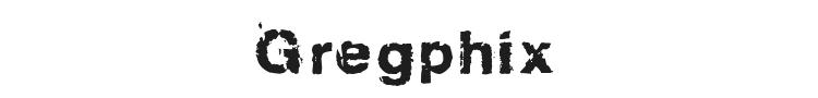 Gregphix Font Preview