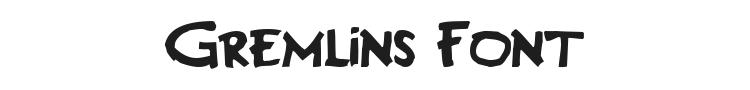 Gremlins Font