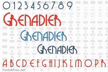 Grenadier Font