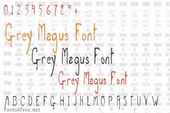 Grey Magus Font