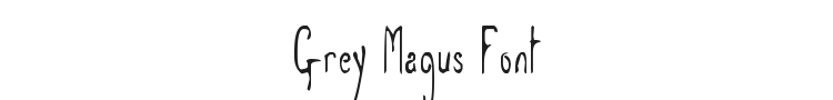 Grey Magus Font Preview