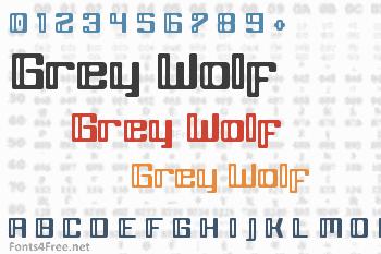 Grey Wolf Font