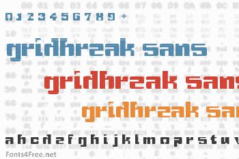 Gridbreak Sans Font