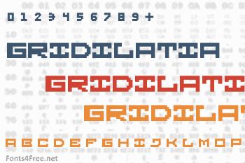 Gridilatia Font