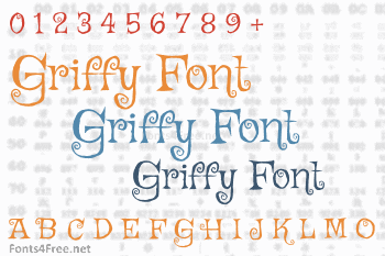 Griffy Font