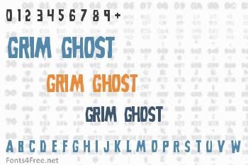 Grim Ghost Font