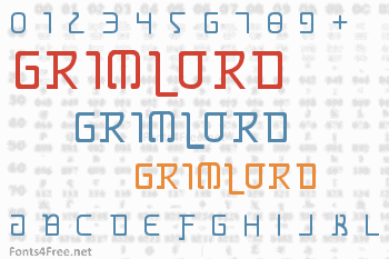 Grimlord Font