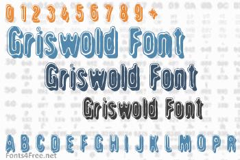 Griswold Font