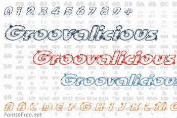 Groovalicious Tweak Font