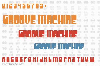 Groove Machine Font