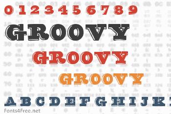 Groovy Font Font