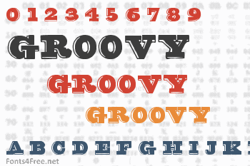 Groovy Font Font Download - Fonts4Free