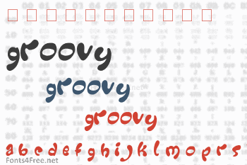 Groovy Font Download - Fonts4Free