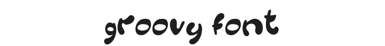 Groovy Font Preview