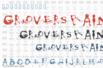 Grovers Pain Font