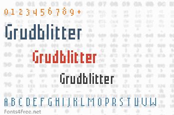 Grudblitter Font