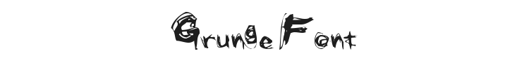Grunge Font Preview
